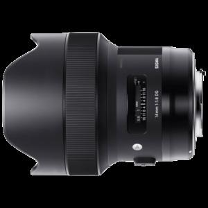 Sigma art 14mm f1.8 (E)