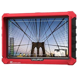 MONITEUR LILLIPUT 7 POUCES (2x HDMI / 2x BATTERIES)