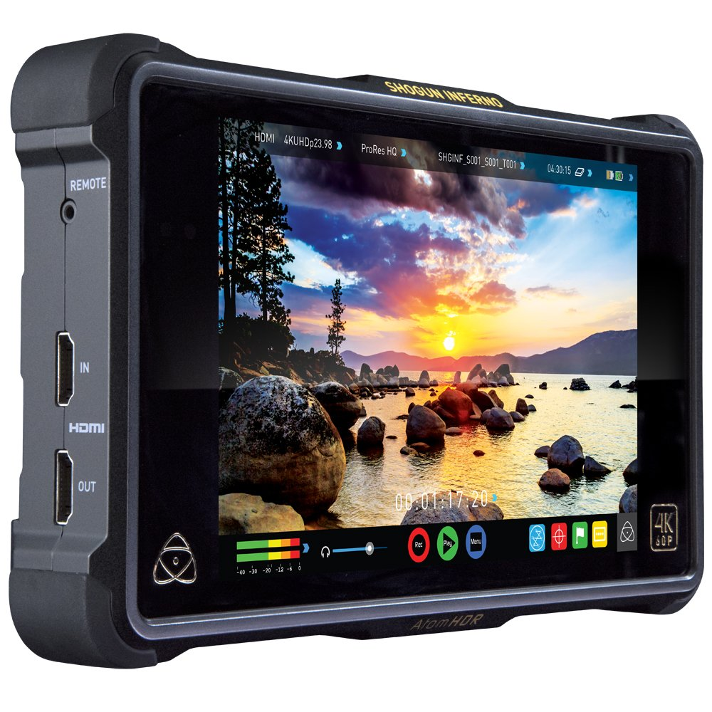 ENREGISTREUR ATOMOS SHOGUN INFERNO (SSD 500 Oo / 2x HDMI / 2x BATTERIES)