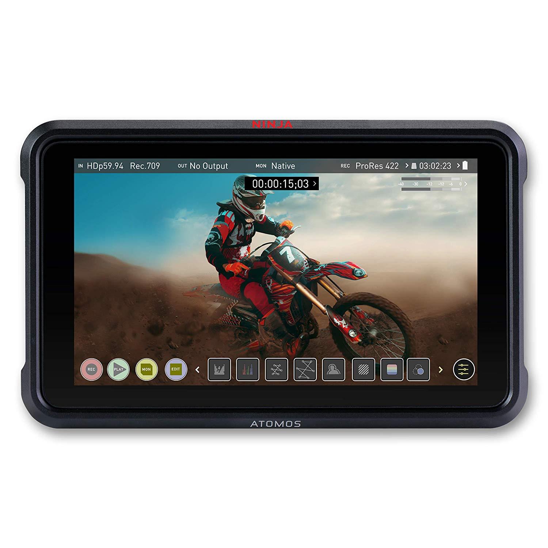 ENREGISTREUR ATOMOS NINJA V (SSD 496 GO / 2x HDMI / 2x BATTERIES)
