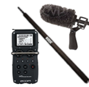 KIT PERCHMAN (NTG-2 / H5 / XLR / PERCHE 2M)