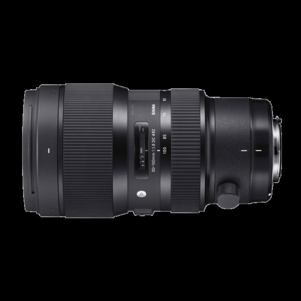 Sigma art 50-100 F1.8 (EF)