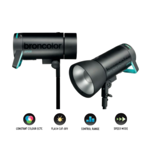 BRONCOLOR KIT 2 SIROS 800 (4x BATTERIES) (PIEDS INCLUS)