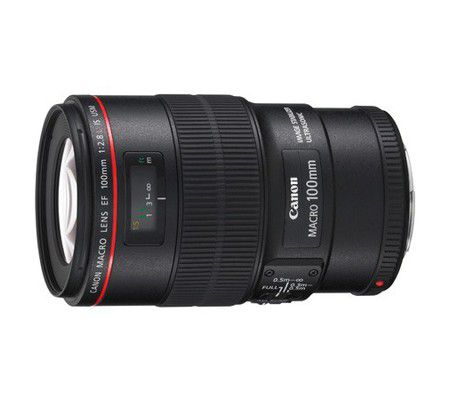 Canon 100mm F2.8 L IS usm II macro (EF)