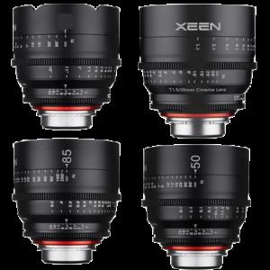 XEEN – SERIE OPTIQUE (16/35/50/85mm) (EF)
