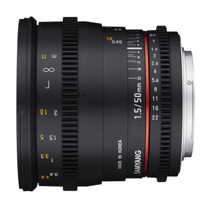 SAMYANG 50mm T1.5 (EF)