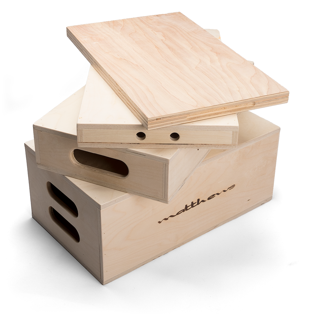 APPLE BOX (SET DE 4)