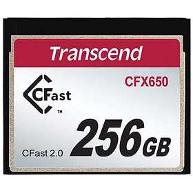 CARTE CFAST 2.0 256GO
