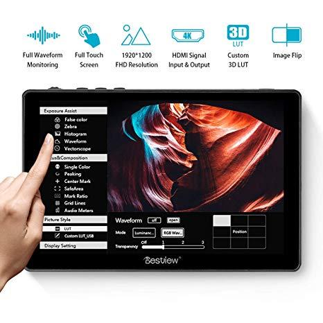 MONITEUR DESVIEW 7 POUCES HDMI (2x HDMI / 2x BATTERIES)