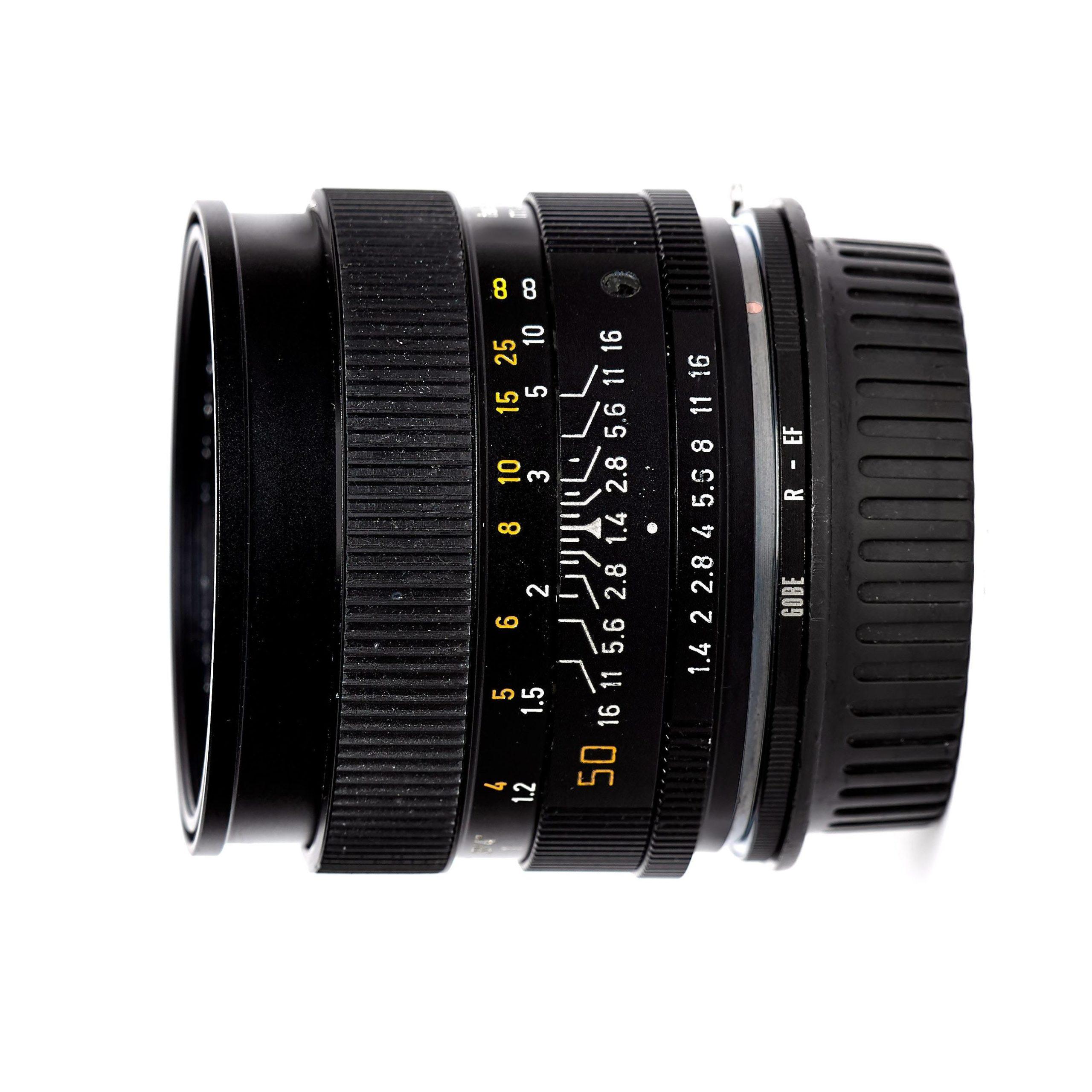 LEICA SUMMILUX-R 50mm F1.4 (EF)