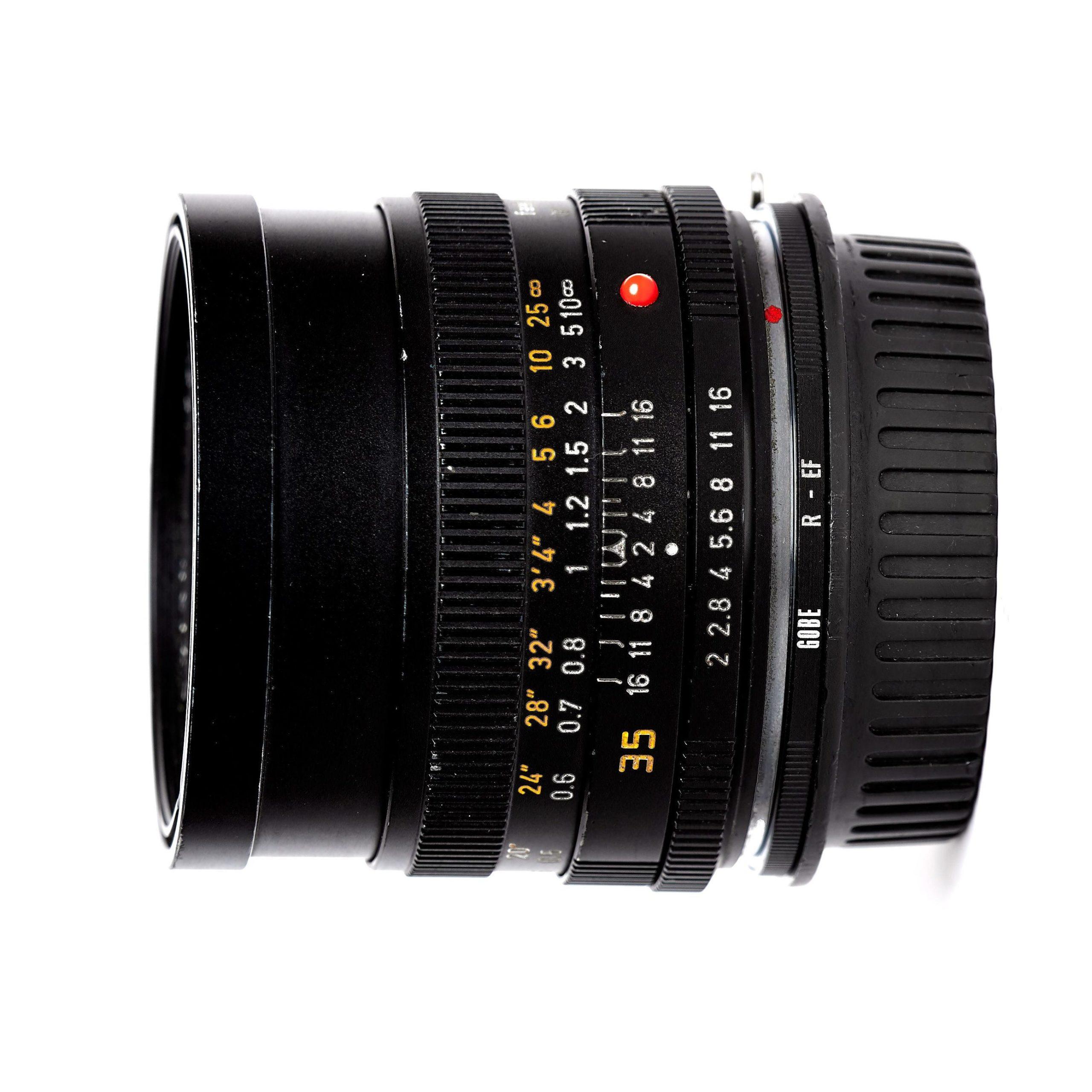 LEICA SUMMICRON-R 35mm F2.8 (EF)
