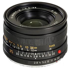 LEICA ELMARIT-R 35mm F2.8 (EF)