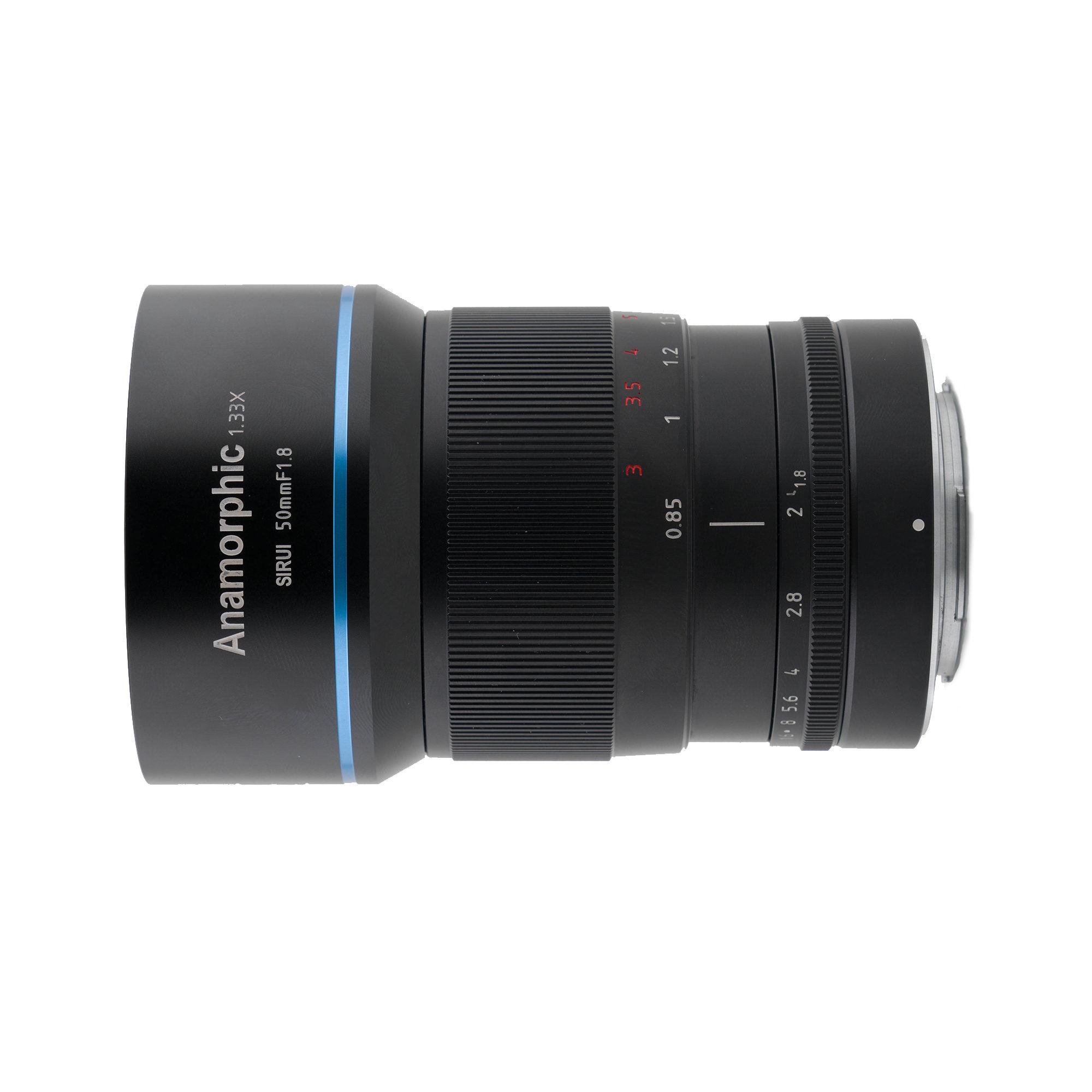 SIRUI ANAMORPHIQUE 50mm F1.8 x1.33