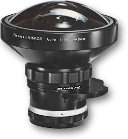 Nikkor 8mm F8 monture F(NIKON)