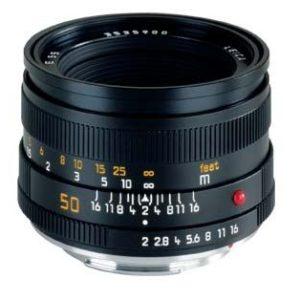 LEICA SUMMICRON  50 mm  F2