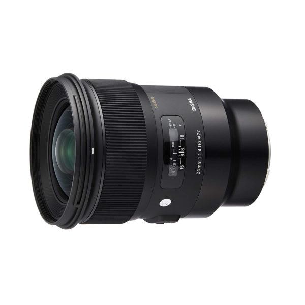 Sigma art 24mm F1.4 (E)