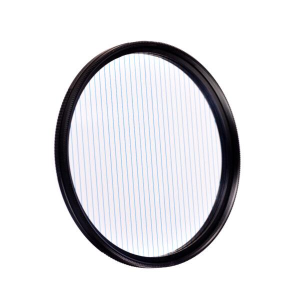 Blue flare prism lens fx