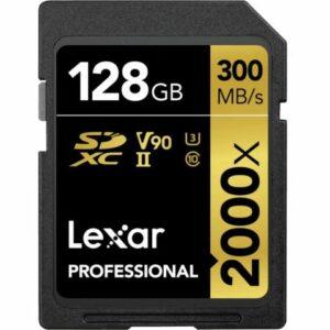 CARTE SD 128Go (300mb/s)