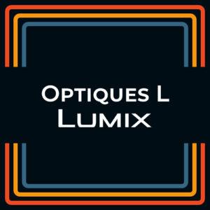 Optique Lumix (L) Prime